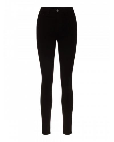 High Skin Jeggings Black