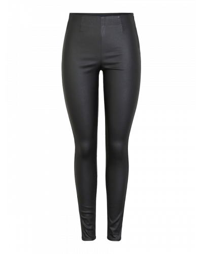 HW Coated Leggings Black