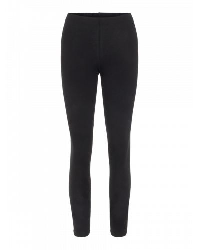 Long Leggings Black