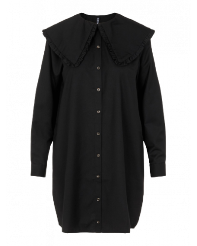 Marly LS Shirt Dress D2D Black