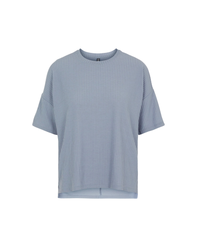 Ribbi Oversize T-shirt Blue Fog