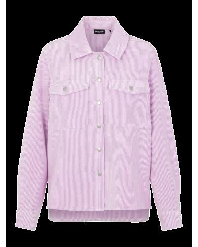 Steffi LS Corduroy Shirt - Orchid Bloom