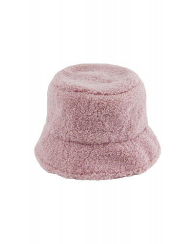 Teddy Bucket Hat Ash Rose