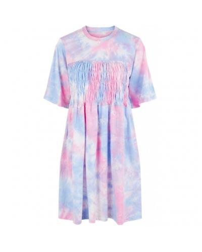 Tee Dress Kentucky Blue/Tie Dye