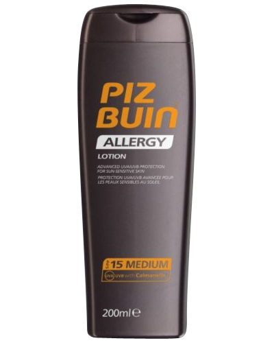 Allergy Lotion SPF 15