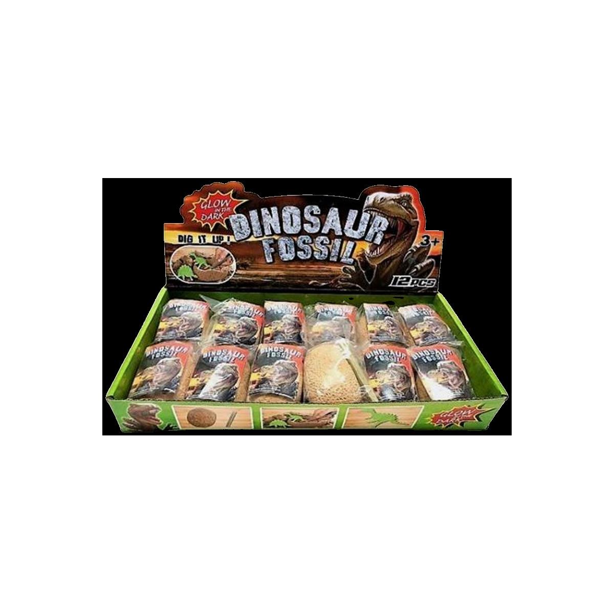 Glow In The Dark Dinosaur Fossil Æg