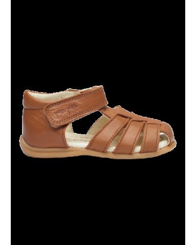 Lukket Sandal Camel