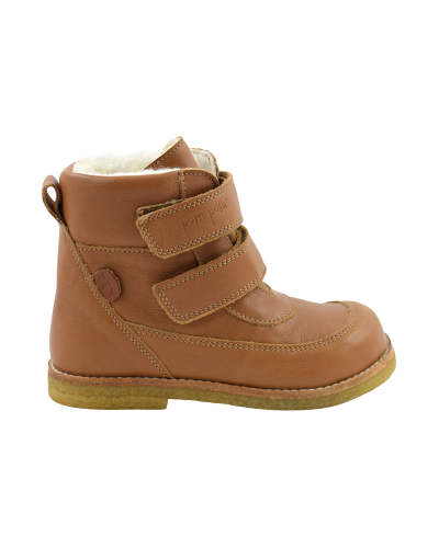 Rub Sole Velcro Boot Tex Camel