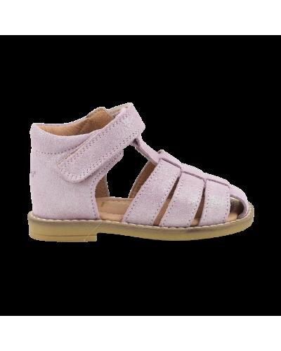Sandal rose glitter