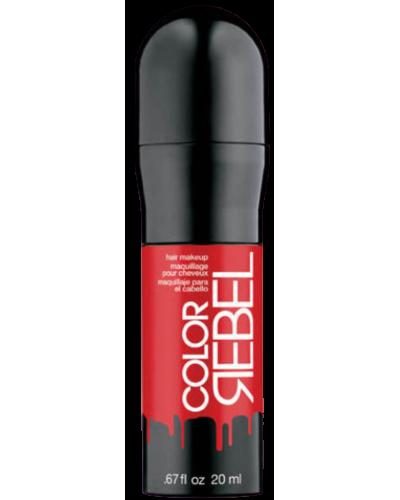 Color Rebel Hair Makeup Red