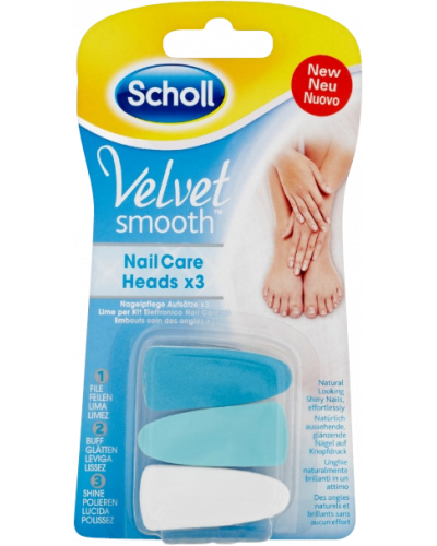 Velvet Smooth Elektronic Nail Care System Refill H