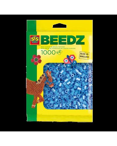 Perler 1000 stk. himmelblå