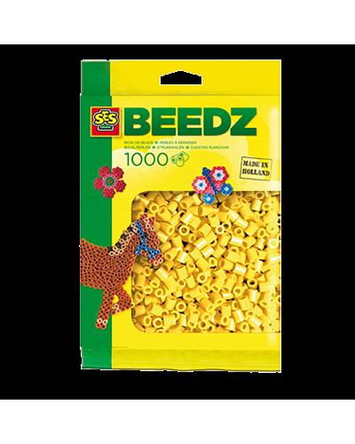 Perler 1000 stk. gul