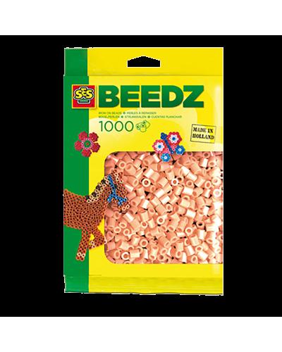 Perler 1000 stk. lys farve