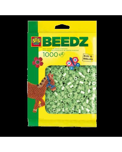 Perler 1000 stk. mint grøn