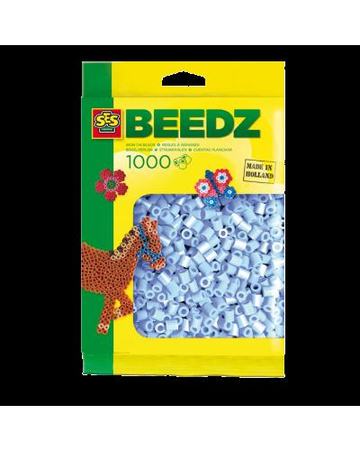 Perler 1000 stk. lyseblå