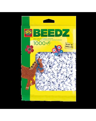 Perler 1000 stk. hvid