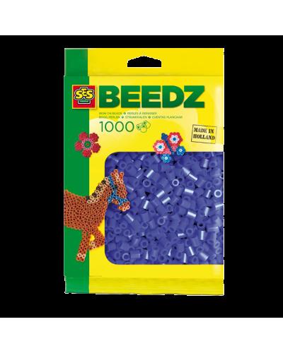 Perler 1000 stk. mørke blå