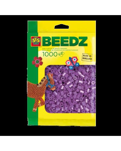 Perler 1000 stk. lilla