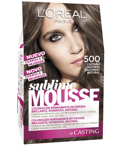 Sublime Mousse Hair Coloring 500 Natural Brown