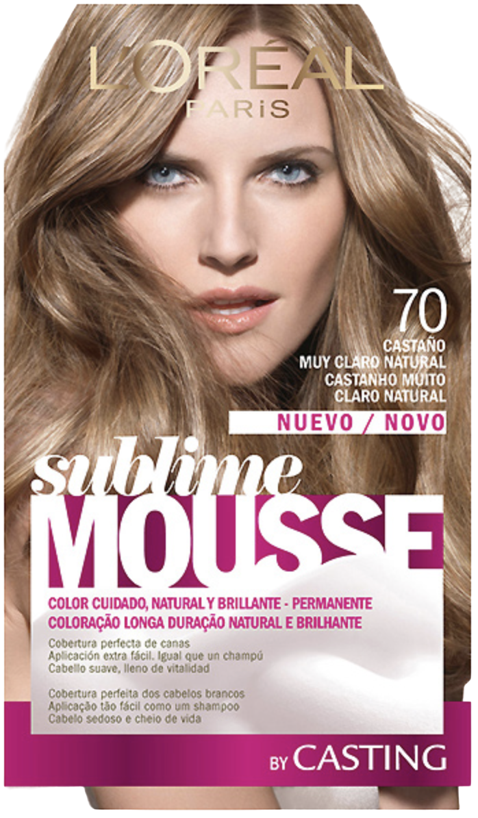 Sublime Mousse Hair Coloring 700 Light Brown