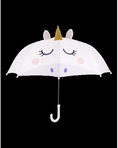 Sunnylife paraply enhjørning hvid