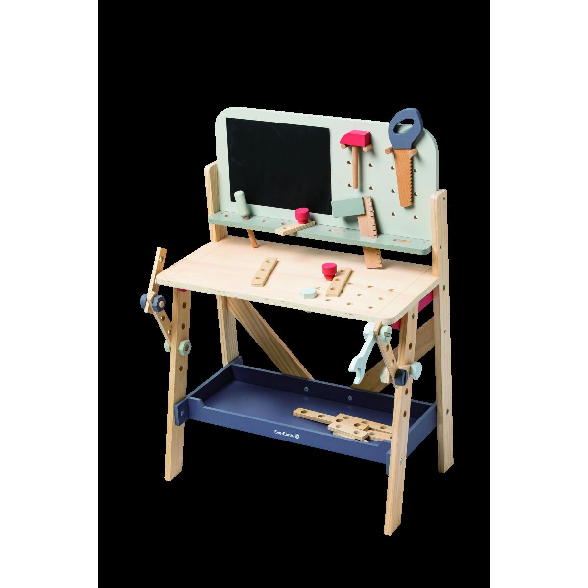 Stor værktøjsbænk - Pastel