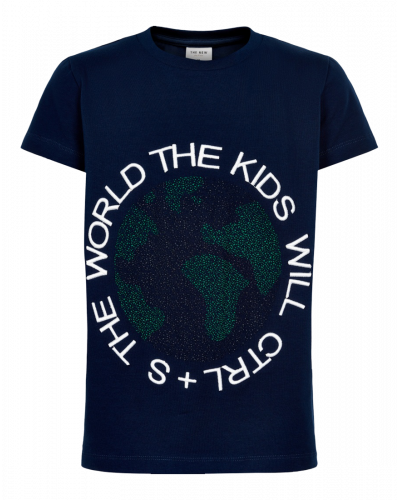 The New T-shirt Black Iris