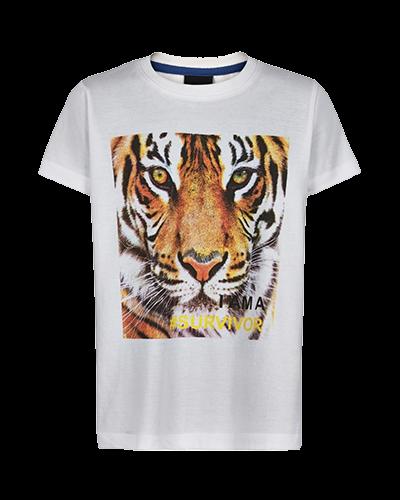 T-shirt Oak hvid