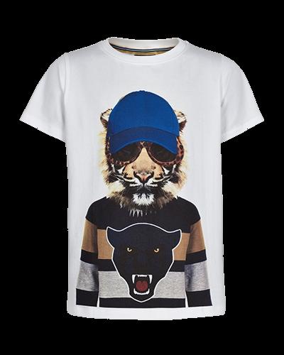 T-shirt Ober hvid