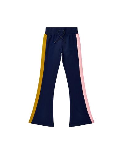 Valis Flared Pants Navy Blazer