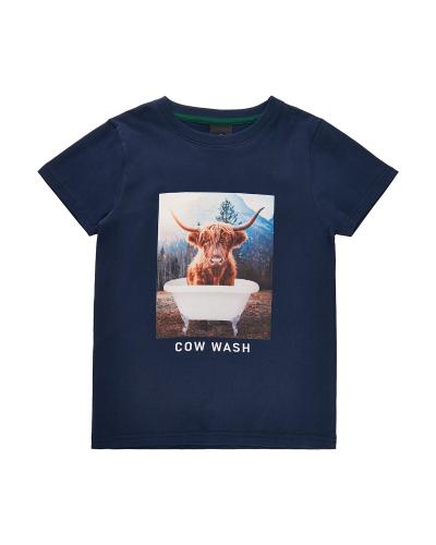 Villion T-shirt Navy Blazer