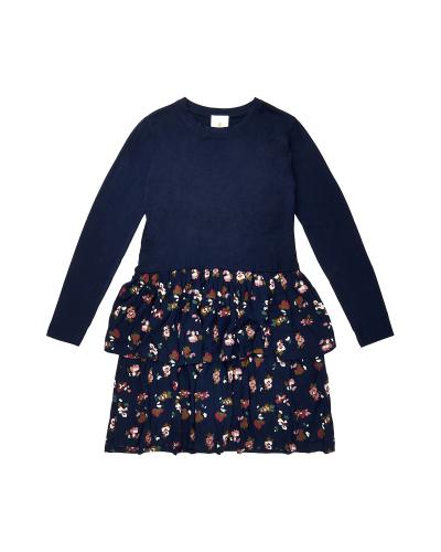Vivienne Melrose LS Dress Navy Blazer