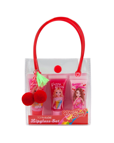 Lipgloss Sæt Cherry Bomb