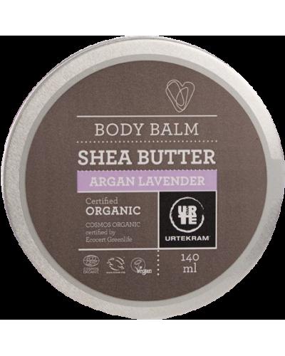 Body Balm Shea Butter Argan Lavender Øko