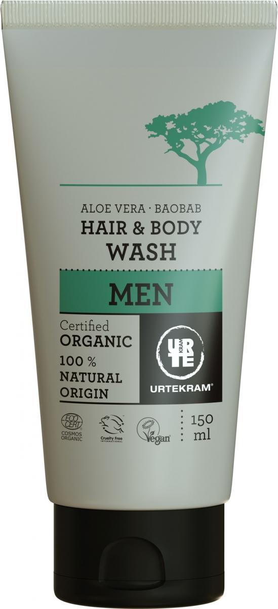 MEN Hair & Body Wash Aloe Vera & Baobab