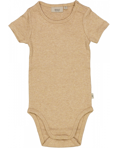 Body Rib Plain Sand Melange