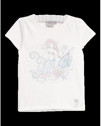 Wheat Disney T-shirt Ariel Ivory