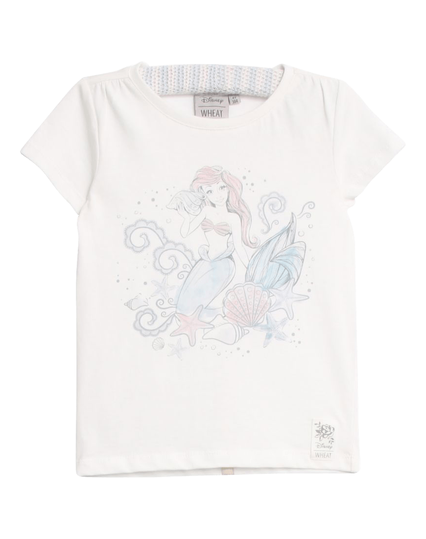 Wheat Disney T-shirt Ariel Ivory