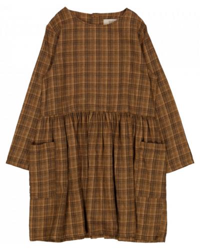 Dress Agathe Walnut