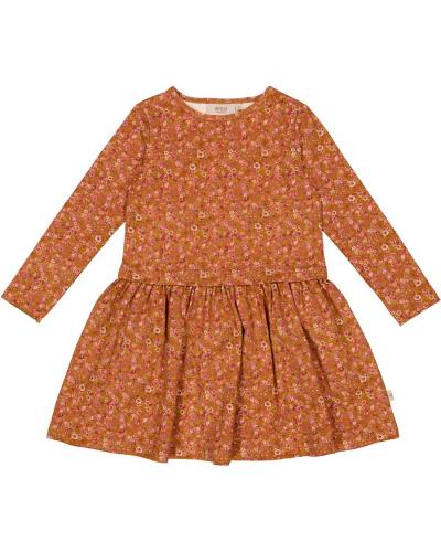 Dress Astrid Bronze Flowers