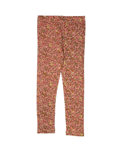 Jersey Leggings Flowers And Animals