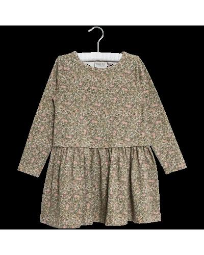 Kjoler Astrid Green Flowers