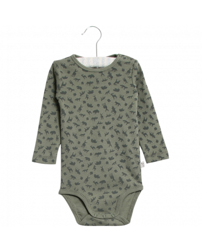 Plain Body Agave Green