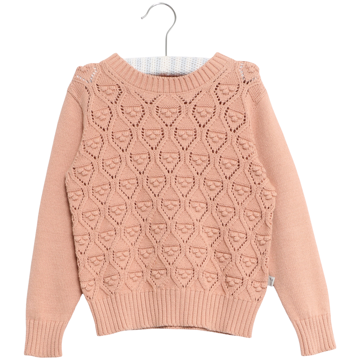 Pullover Leise Misty Rose