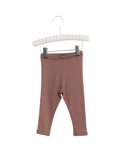 Rib Leggings Powder Plum