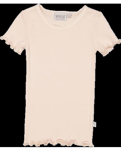 Rib T-Shirt Powder