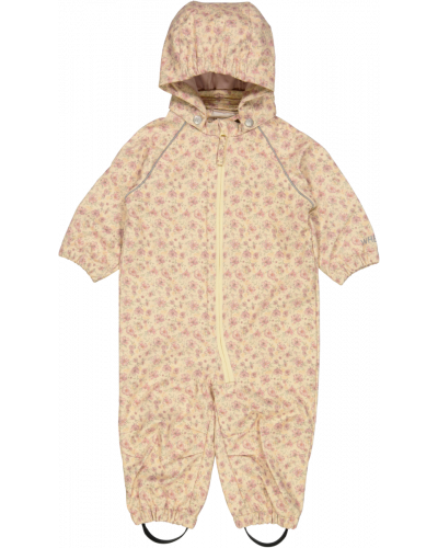 Softshell Suit Soft Beige Flowers