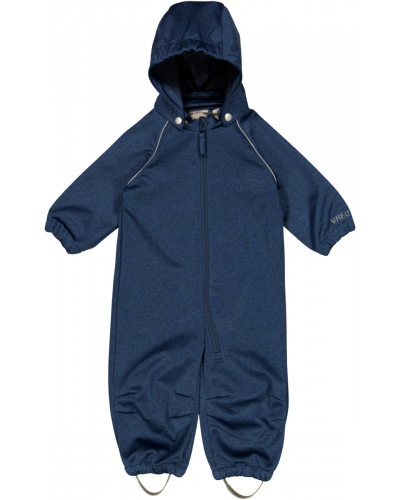 Softshell Suit Blue Melange