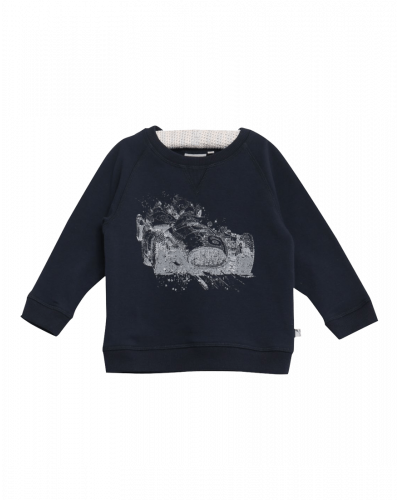 Wheat Sweatshirt Race Navy